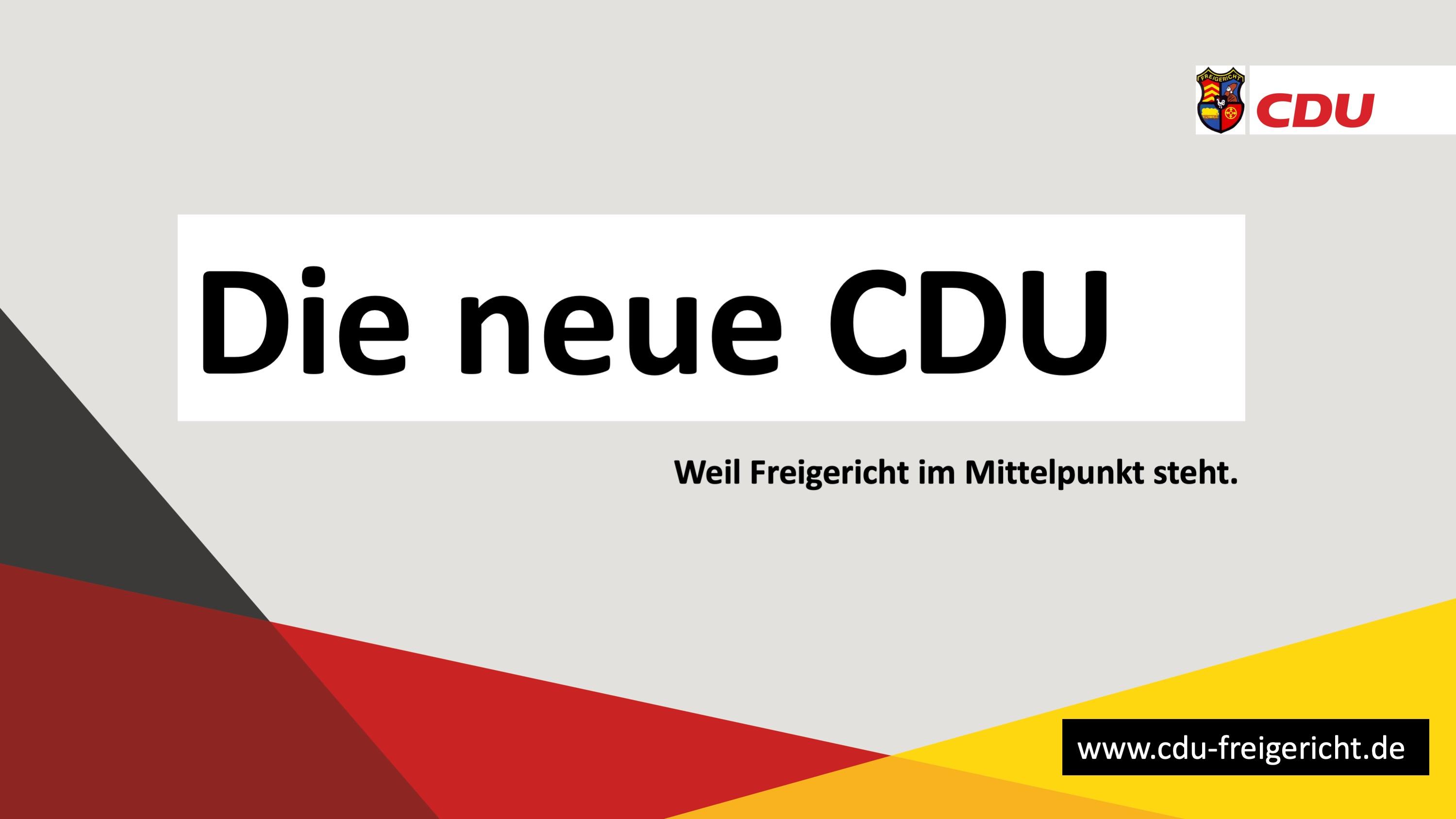 Die neue CDU